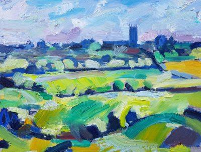 On the Hizon - a painting by David Pott