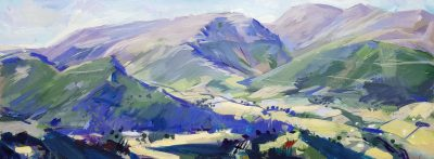 Painting: Helm Crag from Silver Howe