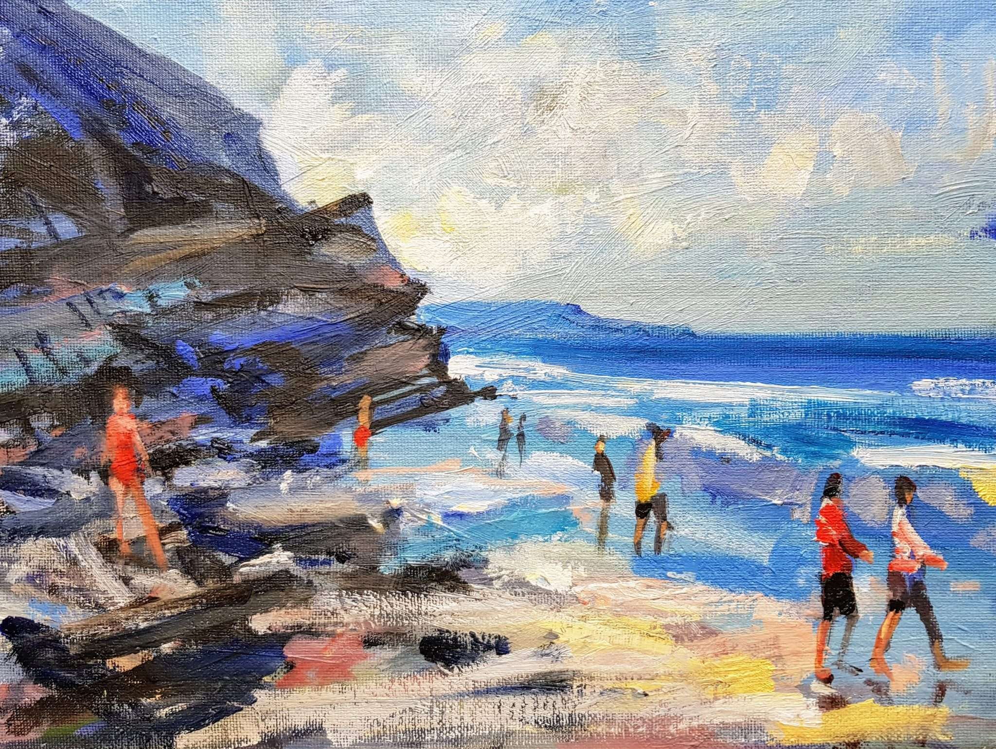 Whitby Beach (Sunny Day)