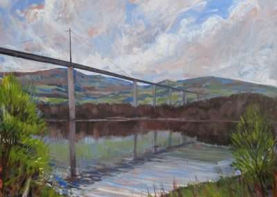 Landscape art commission - a bridge in Scotland