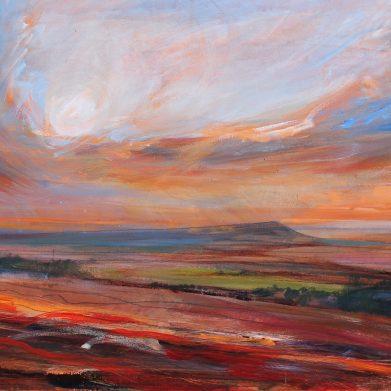 Lancashire painting - 'Memories of Lancashire' by David Pott