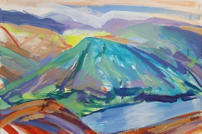 Lake District Study 1 PRINT