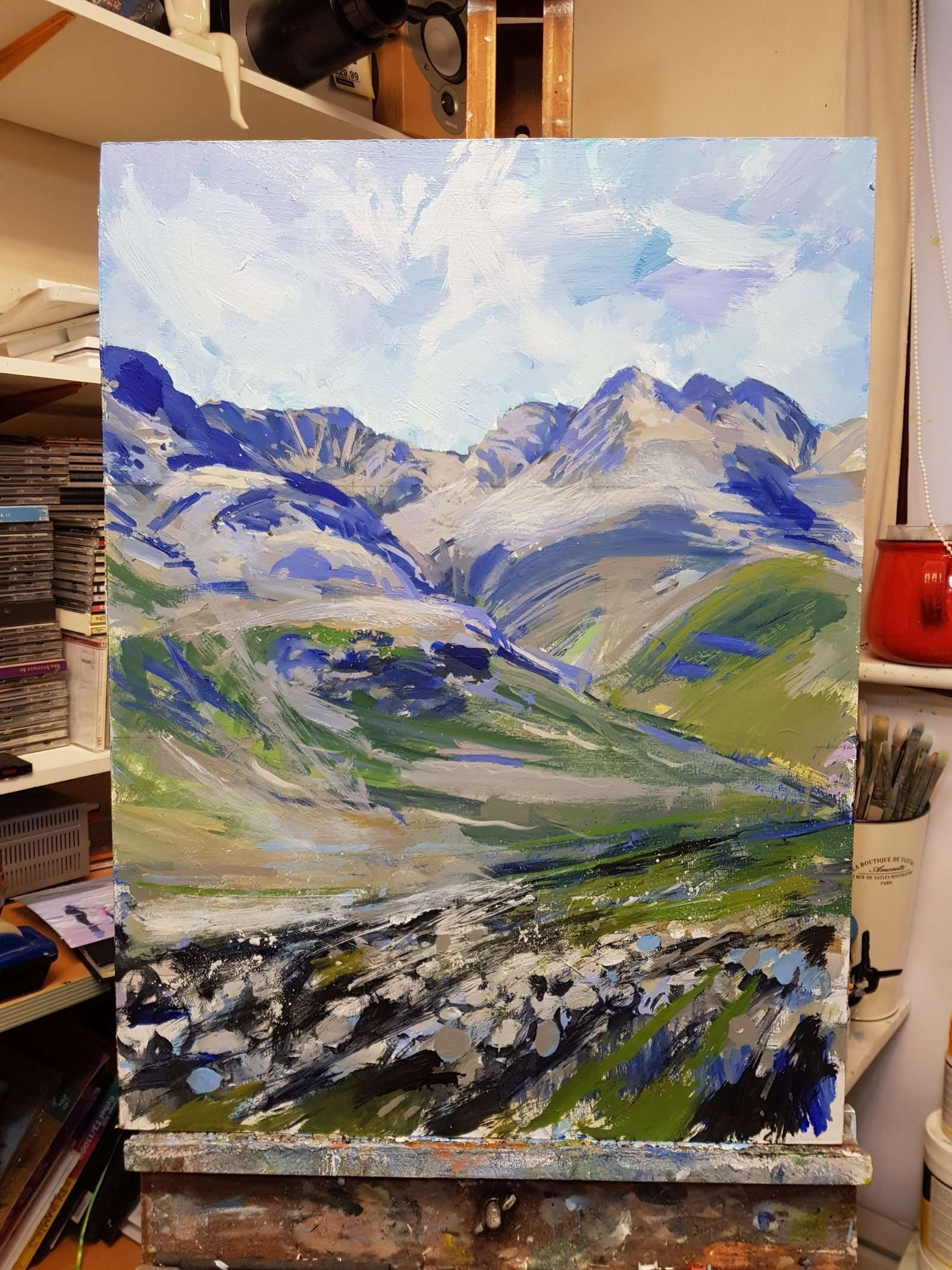 Bowfell and the Crinkles - detail 02