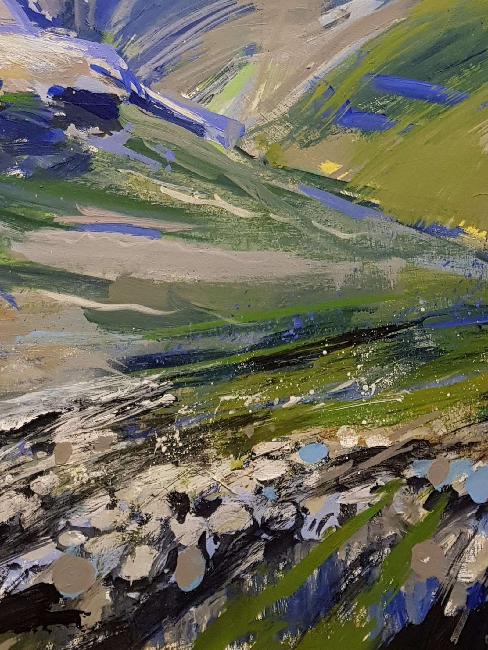 Bowfell and the Crinkles - detail 03