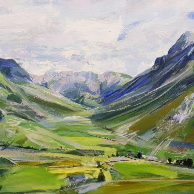 Mickleden Lake District Painting