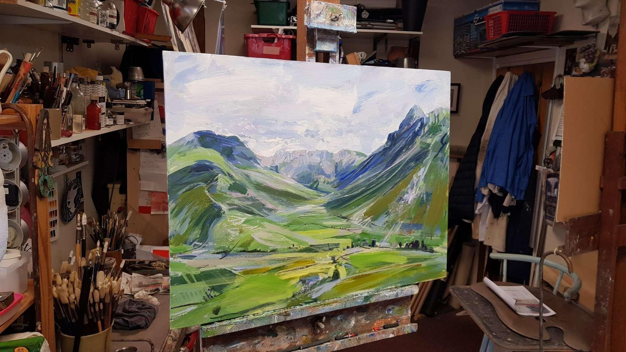 Mickleden Lake District detail 03