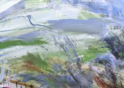 Eagle Crag from Stonethwaite - detail 02