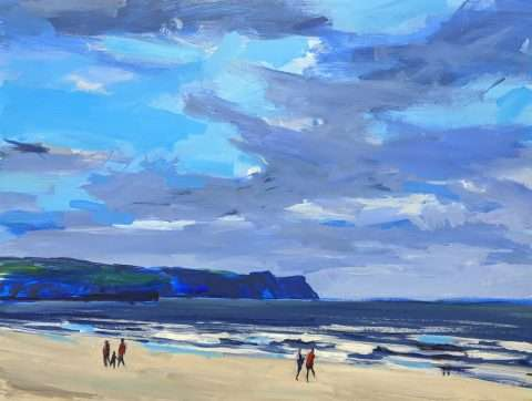Whitby Storms - original art painting